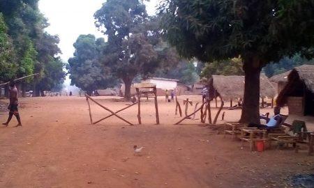 Sous-préfecture de Bogangolo, le 11 mars 2020. Photo CNC / Anselme Mbata