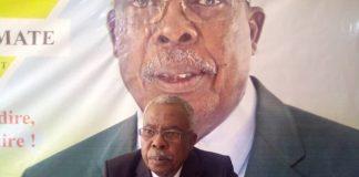 Éloie Anguimaté, candidat indépendant déclaré à la prochaine présidentielle du 27 décembre 2020. Photo CNC / Cyrille Jefferson Yapendé.