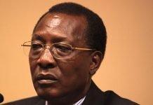 Le Président tchadien Idriss Deby.