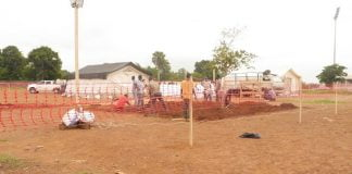 Les travaux démarrent pour un nouveau centre de traitement Covid-19 à Bangui dédié à la prise en charge des patients avec des formes sévères de la maladie