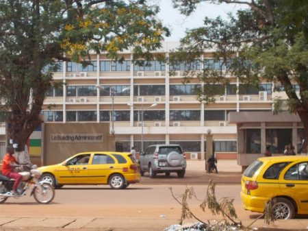 Building administratif de Bangui. Photo CNC / Anselme Mbata