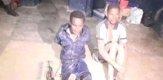 Les combattants rebelles de 3R arrêtés par les soldats FACA le 10 juin 2020. Photo CNC / Gervais Lenga