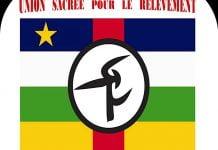 LOGO DE L'UNION SACREE POUR LE RELEVEMENT (USR