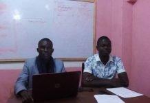 Les deux (2) leaders de cette plateforme dénommée Fini Masseka, Fini Porosso copyright CNC. Jefferson Cyrille YAPENDE.