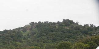 Village Letélé, situé à 20 kilomètres de Bocaranga sur l'axe Ngaouandaye. Photo CNC / Arlette Maïguélé