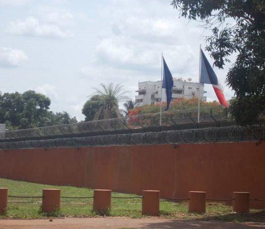 Ambassade de France à Bangui.