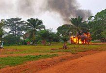 commissariat de police de Bagandou incendié