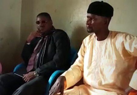 De gauche à droite Lamido issu bi Amadou et Abass Sidiki à Koui en 2019.