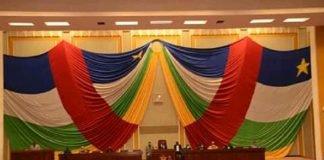 hémicycle de l'assemblée nationale. Photo CNC - Anselme Mbata