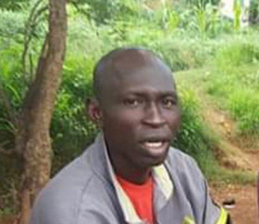 Le ministre du DDRR Maxime Mokome, à l'époque coordonnateur national de la milice anti-balaka lors de son entretien avec la diaspora le 9 août 2016.