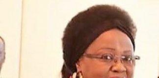 Madame Honorine-Flore Sylvie MAGBA, l'Ambassadrice de la RCA auprès de la République de Côte d'Ivoir lors de la cérémonie de présentation de sa lettre de créance au Président ivoirien Alassane Dramane OUATTARA le 14 novembre 2019. Copyrightprsident ivoirienne