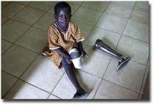 Photo d'illustration d'un enfant, première victime de la barbarie humaine au monde