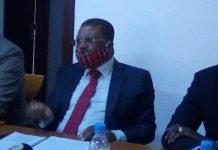 Maître Nicolas Tiangaye Président de la Convention républicaine pour le progrès social CRPS et porte-parole de la COD-2020