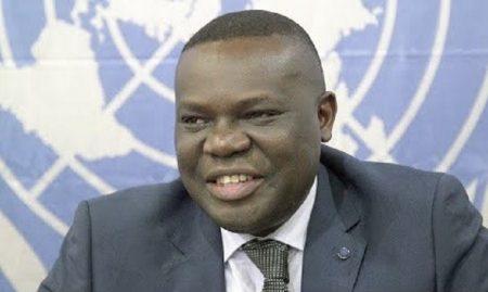 M. Yao Agbetse (Togo) est un avocat des droits de l'homme, chercheur et enseignant qui a