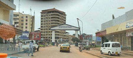 Ville de Bangui, le 01 août 2020. Photo CNC / Anselme Mbata