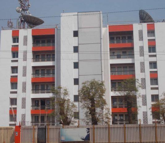 Direction général de la société Orange mobile à Bangui. Photo CNC / Mickael Kossi