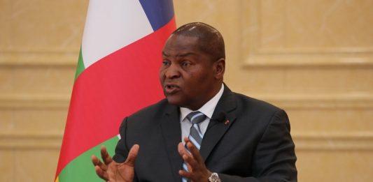 Le Président centrafricain Faustin Archange Touadera