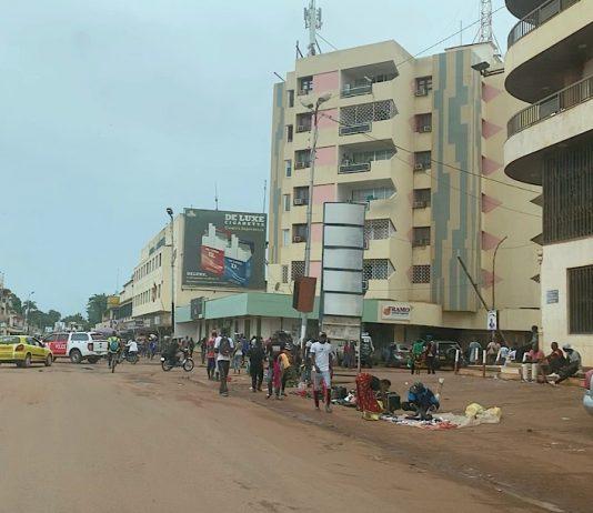 Image d'illustration. Centre ville de Bangui, Centrafrique. Photo CNC / Anselme Mbata