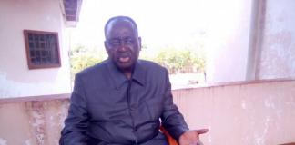 l'ancien Président François Bozizé à Bossangoa le 20 septembre 2020 lors de son interview par CNC
