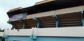 le stade omnisport refait par le MCU pour leur congrès du 24 septembre 2020