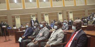 Le chef de l'État Touadera lors du Lancement officiel du processus d'élaboration de l'étude nationale prospective « RCA 2050 »