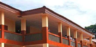 le nouvel immeuble de l'école saint-Paul à Ouango bangui le 31 octobre 2020 par cyrille