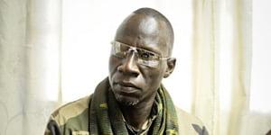 Noureddine Adam, ancien numéro deux de la Séléka, le 14 mars 2013 à Bangui
