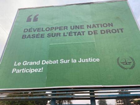 Image de la cour pénale internationale a bangui