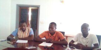 conférence de presse des présidents des arrondissements de la jeunesse CNJ Photo CNC