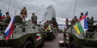les instructeurs russes à Bangui