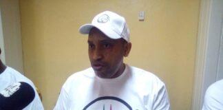 Le Président du CAP 2025, Guy Maurice Limbio, l'un des candidats en lice de la présidence de la fédération Centrafricaine de Basketball. Copyright CNC du 20 - 02- 2021 Jefferson Cyrille YAPENDE