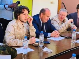 Dmitry Sergeevich Sytii, Valery Zakharov et Oleg