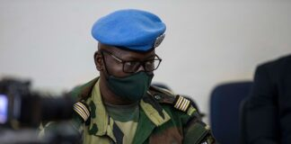 Lieutenant-colonel Abdoul-Aziz Fall, porte-parole de la Force de la MINUSCA.