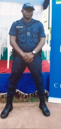 MATHURIN KPEM - chef de poste à l'OCRB