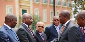 Touadera au Luanda