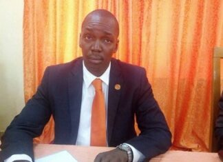 Monsieur Christian Genebem, Président par intérim du parti KNK