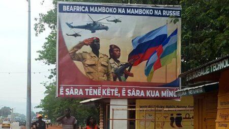 la guerre froide entre la russie et la RCA
