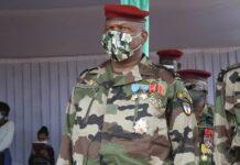 Le Chef d'état major des armées, le général Zéphyrin Mamadou copyright CNC du 1er décembre 2020