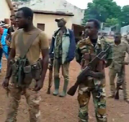Les combattans rebelles du MPC de Mahamat Alkhatim
