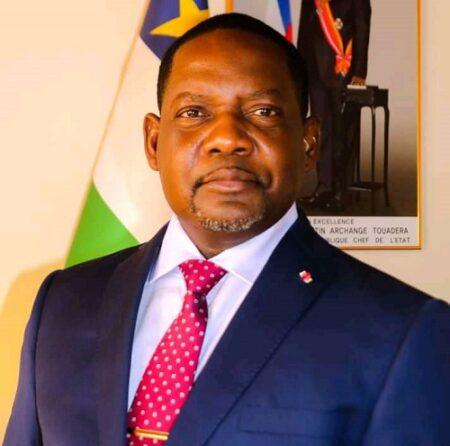 Le premier ministre centrafricain Firmin Ngrebada