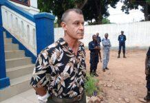 Le français Juan Rémy Quignolot, interpellé par la police le 11 mai 2021 pour détention illégale d'armes de guerre. Photo CNC