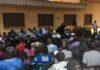Réunion de l'intersyndical à Bangui, bourse du travail, le 15 septembre 2018. Photo RFI