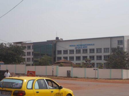 Le complexe scolaire Galaxy à Bangui. Photo CNC