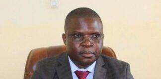 Évariste Ngamana, premier vice-Président de l'assemblée nationale. Photo Radio Ndékèluka