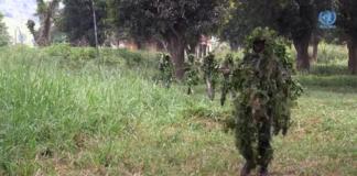 Les soldats FACA à Obo dans le Haut-Mbomou
