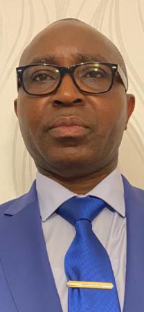 Monsieur Bernard Selembi Doudou, auteur de l'article