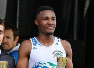 Francky Mbotto : athlète centrafricain