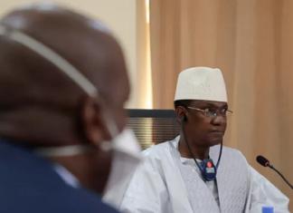 Le premier ministre malien au rendez-vous avec le conseil de sécurité de l'ONU, dimanche 24 octobre. PAUL LORGERIE / REUTERS